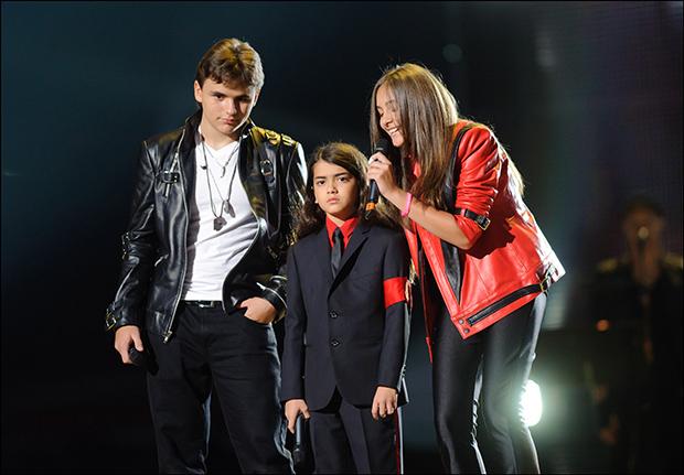Дети Майкла Джексона Фото: tsn.ua