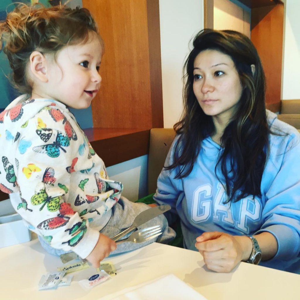 Марина Ким с дочкой Брианой Фото: Инстаграм