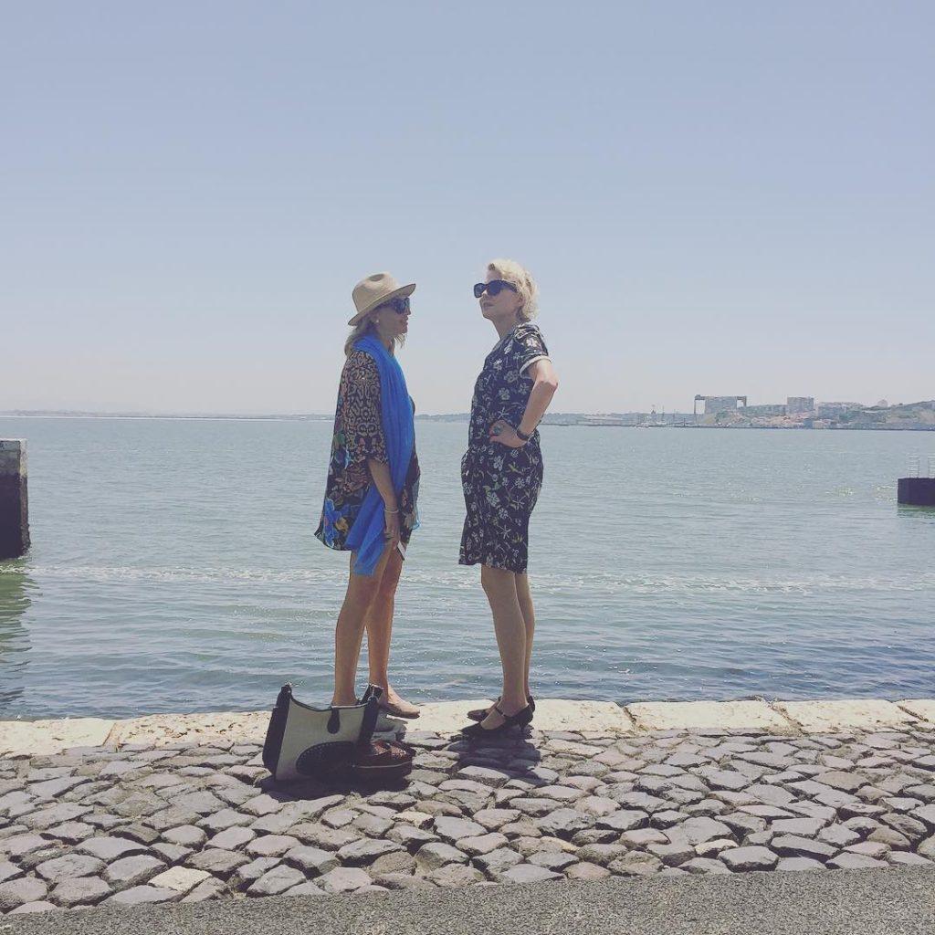 Рената Литвинова с подругой Натальей Сурковой Фото: Инстаграм