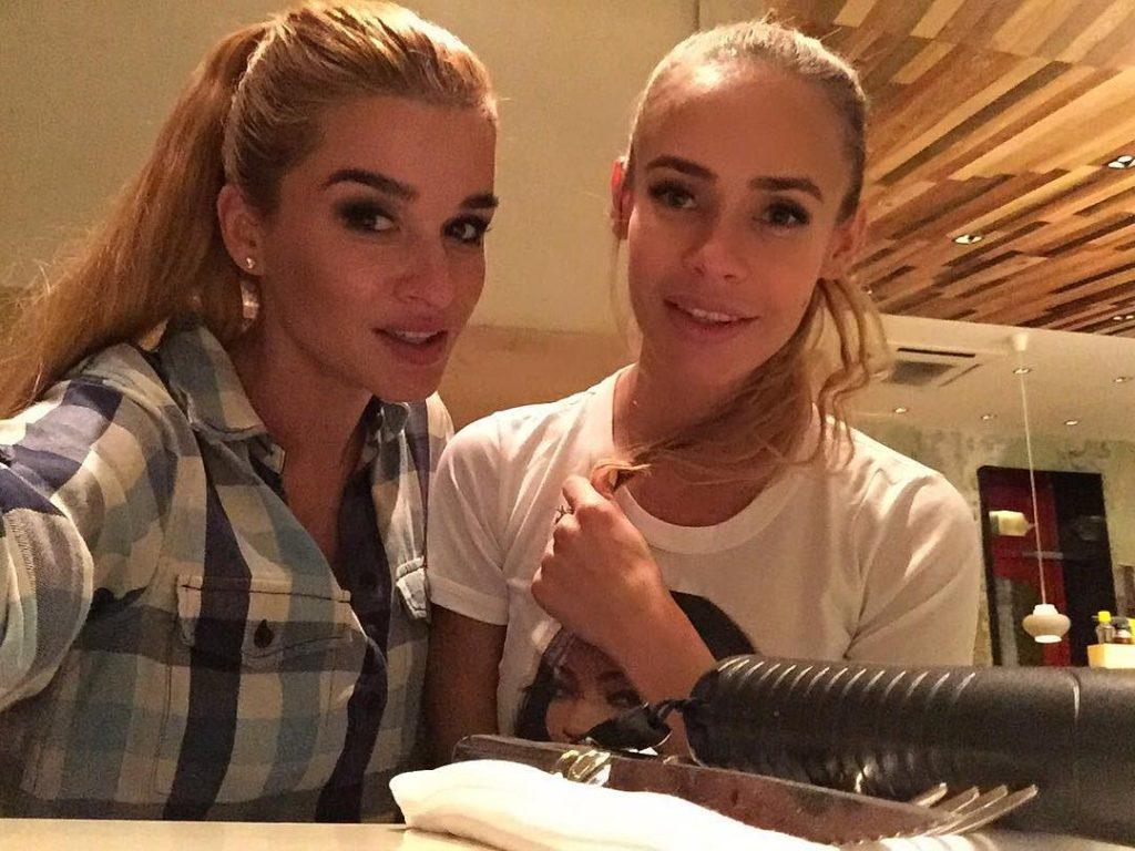 Ксения Бородина и Алена Шторм, бывшая девушка Курбана Омарова Фото: Инстаграм