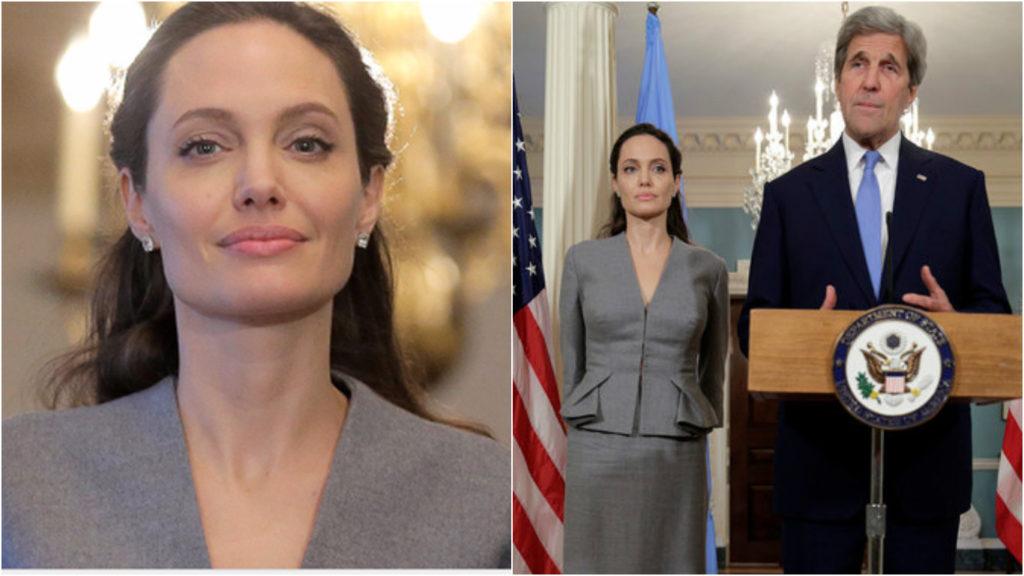 Анджелина Джоли начала набирать вес Фото: Reuters, East news