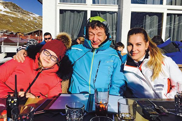 Марат Башаров отдохнул с Елизаветой Шевырковой на высокогорном курорте в Альпах Фото: Инстаграм