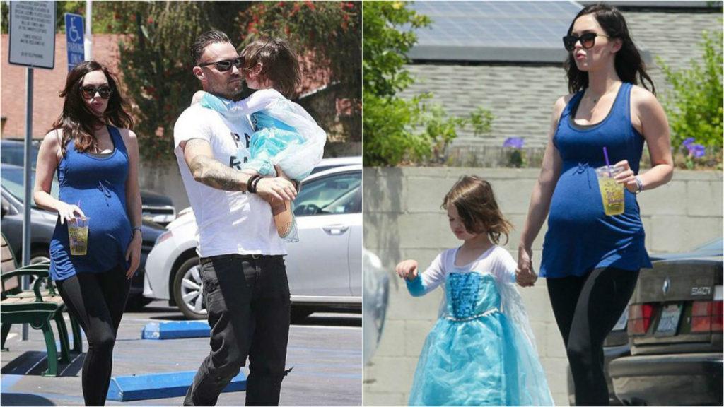 Меган Фокс и Брайан Остин Грин позволяют сыну носить платья Фото: East News