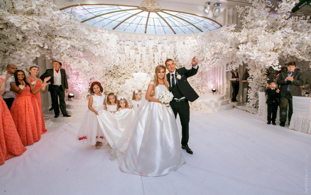 Свадьба Курбана Омарова и Ксении Бородиной Фото: Инстаграм