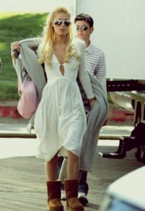 Paris Whitney Hilton-ugg