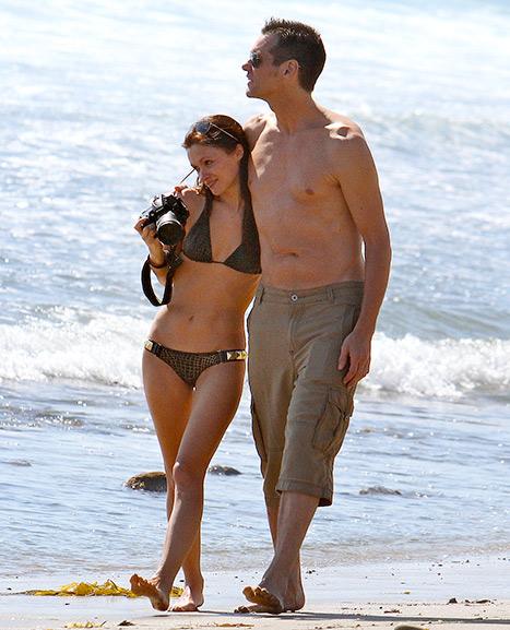Джим Керри с экс-возлюбленной Катрионой Фото: Еonline