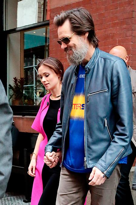Джим Керри и Катриона Уайт Фото: GettyImages