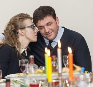 Ксения Собчак и Максим Виторган. Фото chto-proishodit.ruс сайта