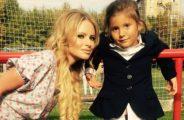 Дана Борисова с дочерью Полиной. Фото с сайта ok.ru