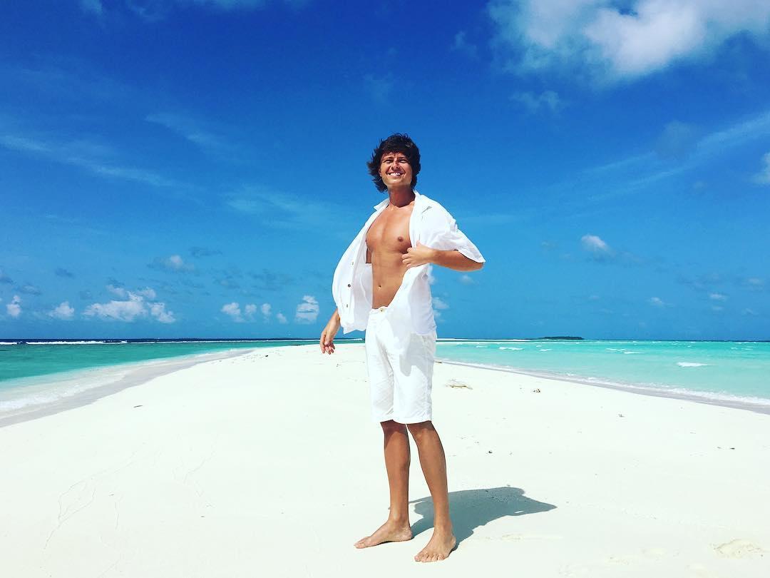 Прохор Шаляпин скрывает, с кем уехал на Мальдивы