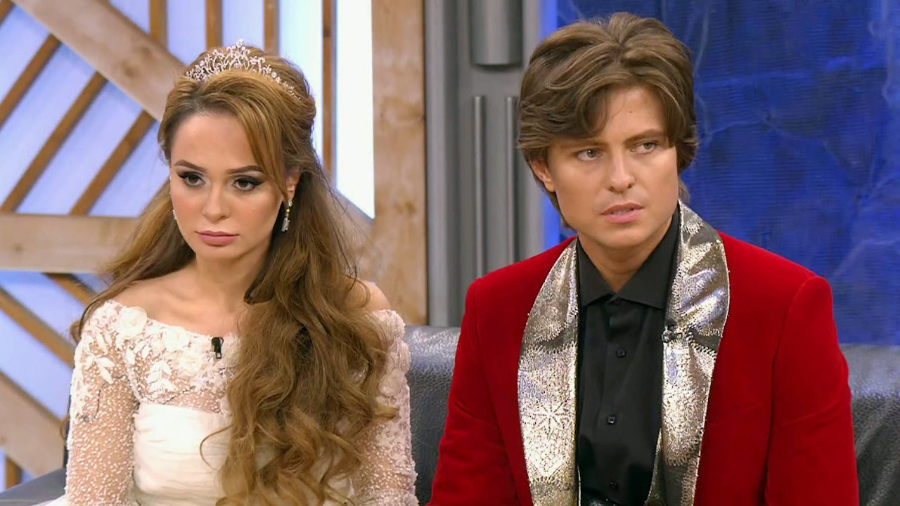 Прохор Шаляпин и Анна Калашникова. Фото с сайта www.1tv.ru