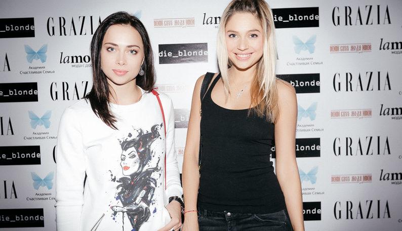Настасья Самбурская и Наталья Рудова. Фото с сайта www.russmodamag.ru