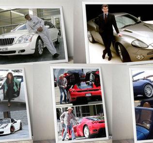 ТОП 5 звезд кино с редкими и дорогими автомобилями