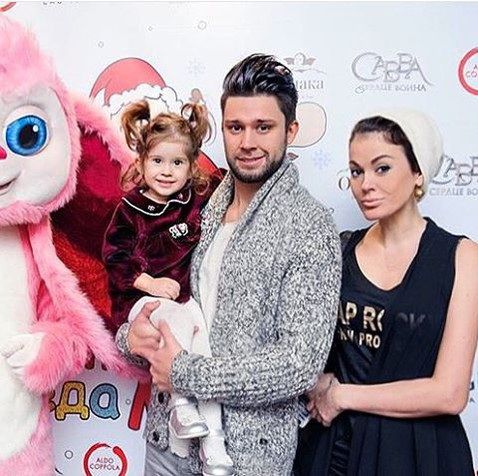 Слава Никитин и Таня Терёшина с дочкой Арис. Фото с сайта www.woman.ru