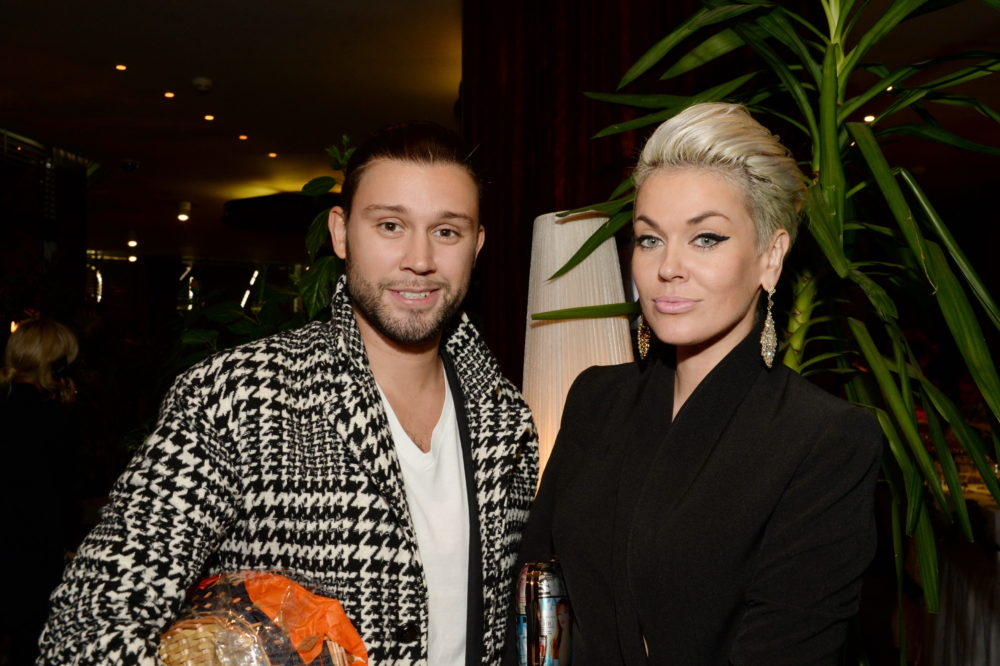 Слава Никитин и Таня Терёшина в сентябре прошлого года. Фото с сайта www.woman.ru
