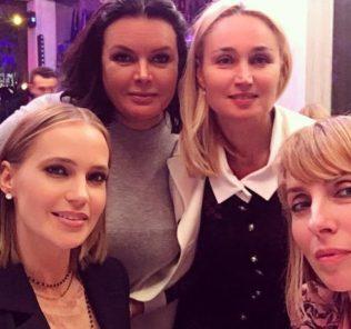 Звездная вечеринка: как развлекается Глюк'oZa и Светлана Бондарчук (видео)