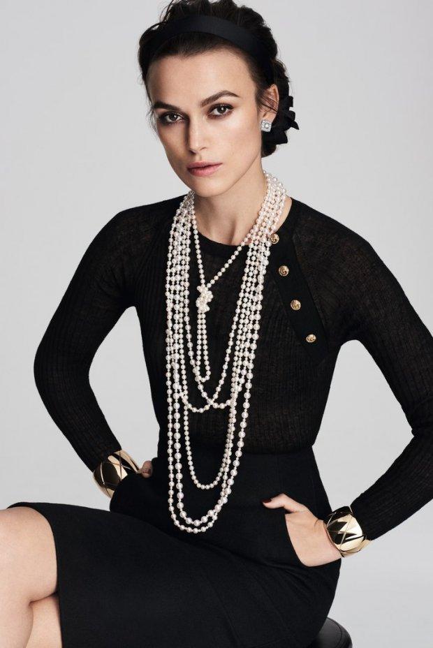 Кира Найтли презентовала ювелирную коллекцию Chanel