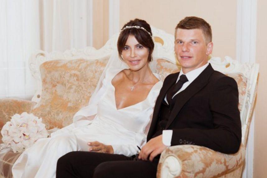 Андрей Аршавин женился на возлюбленной