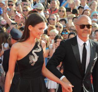 Федор Бондарчук и Паулина Андреева. Фото с сайта www.elle.ru
