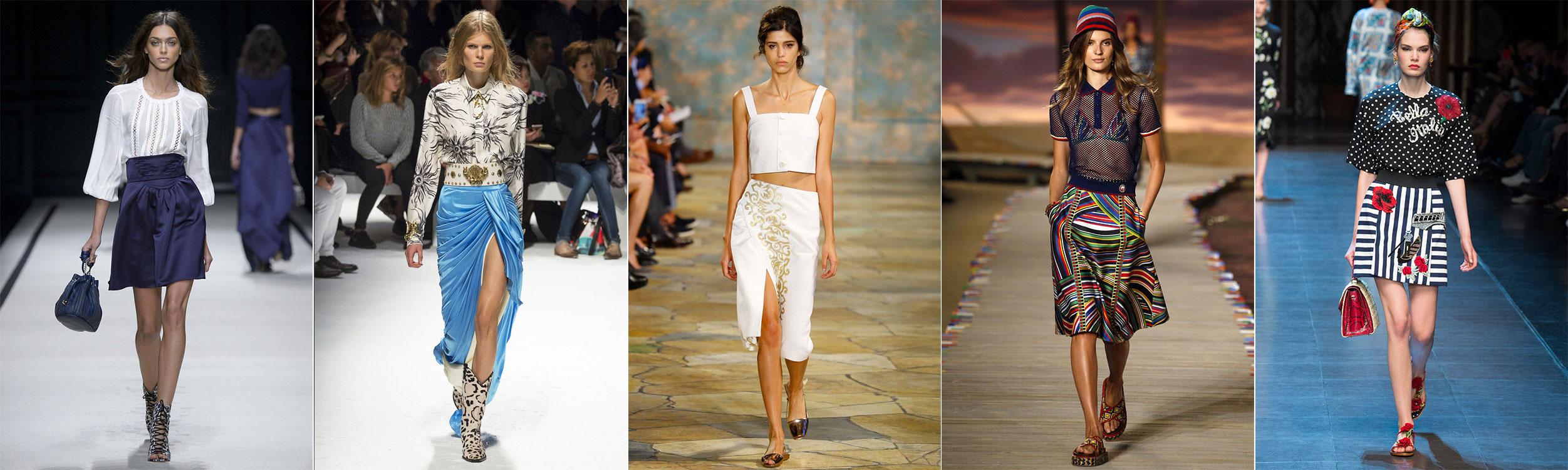 Какие юбки в моде в этом году