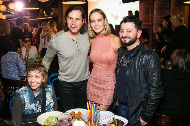Максим Фадеев открыл студию-ресторан для детей