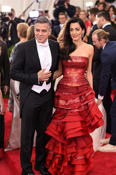Джордж Клуни и Амаль отпраздновали двухлетие свадьбы