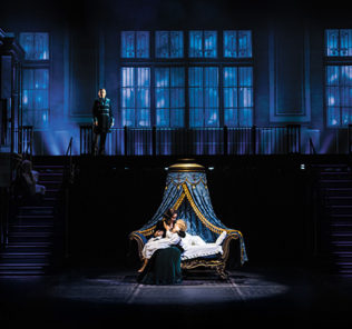 Гусева и Ланская исполнили главную роль в мюзикле «Анна Каренина»