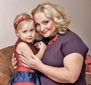4-летняя дочь Светланы Пермяковой приняла участие в модном показе