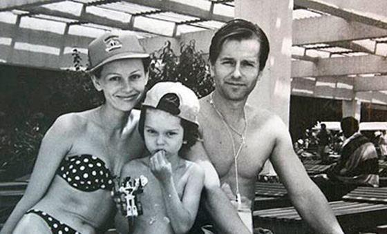 Ирина Безрукова и Игорь Ливанов со своим сыном Андреем