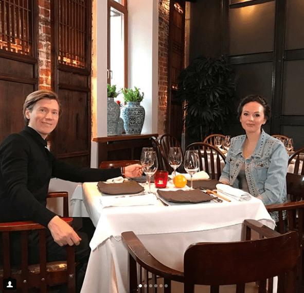 Ирина Безркова и Павел Ваан