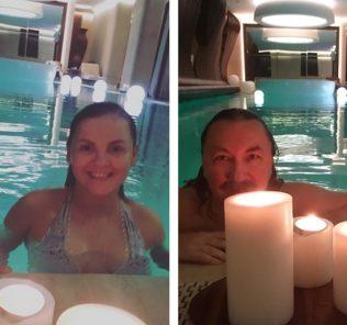 Игорь Николаев пригласил супругу на свидание в бассейн
