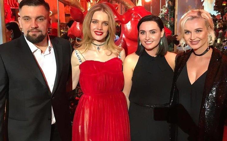 Наталья Водянова провела благотворительный вечер «Не молчи»