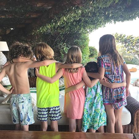 Даша Жукова отдыхает с Дженнифер Мейер и детьми в Италии