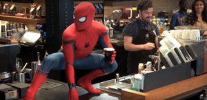 Человек-паук навел панику в одном из кафе Нью-Йорка