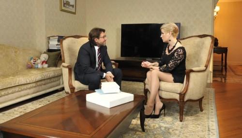 Мария Максакова дала интервью Андрею Малахову о знакомстве с мужем и примирении с матерью