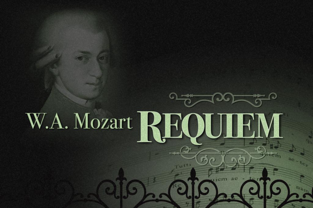 Картинка реквием моцарта