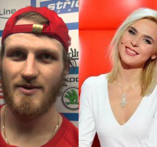 Певица Пелагея впервые вышла в свет с супругом-хоккеистом