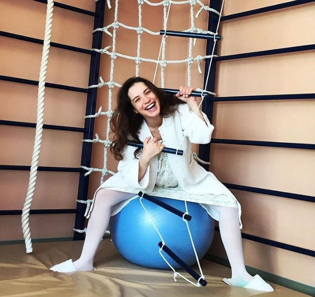 Виктория Дайнеко опубликовала фото из роддома