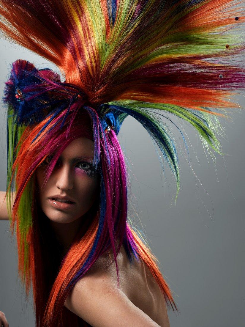 картинки волосы креатив потому