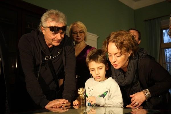 Константин Кинчев показал 6-летнего внука