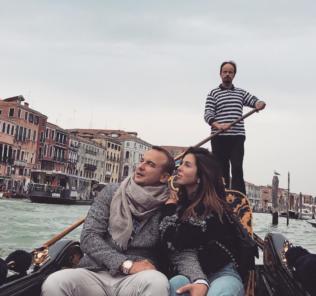 Нюша и ее супруг отправились в романтическую Венецию