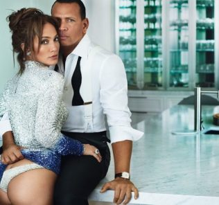 Дженнифер Лопес и Алекс Родригес снялись в откровенной фотосессии для модного глянца