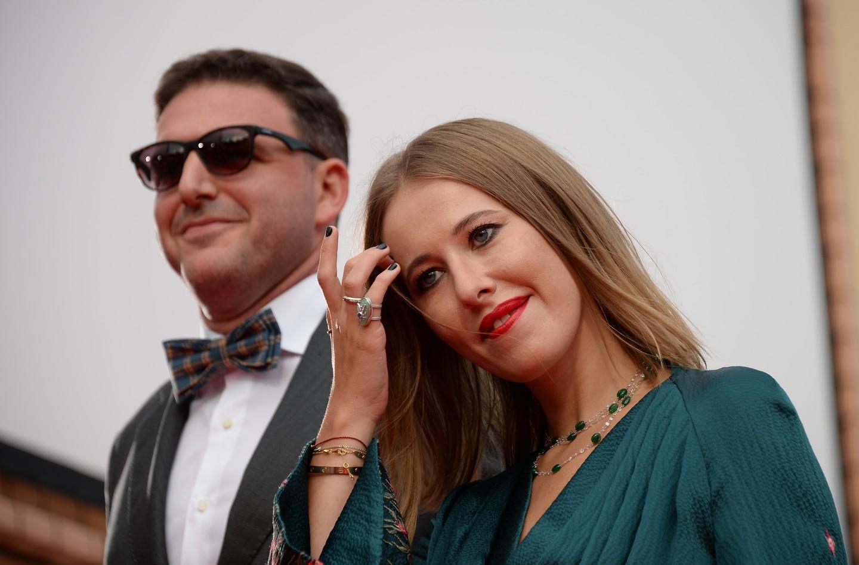 Ксения Собчак отметила 36-летие в Дании