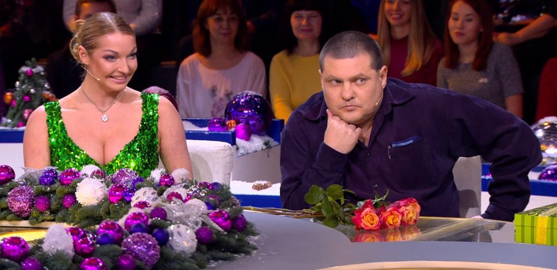 Лариса Гузеева сделала замечание Анастасии Волочковой из-за откровенного платья