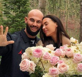 Оксана Самойлова и Джиган отметили 5-летие свадьбы