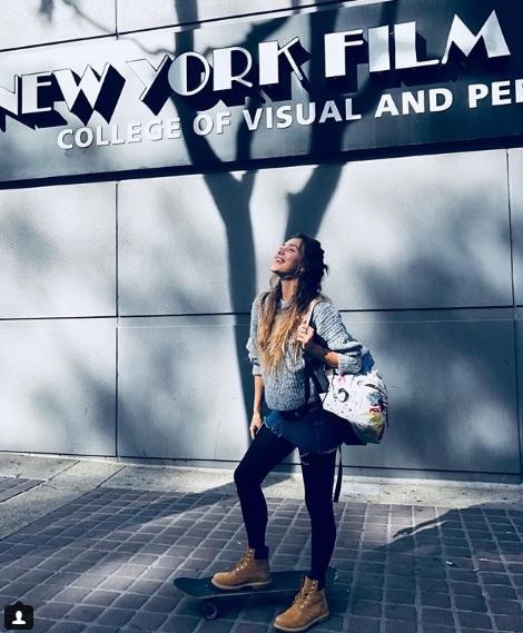Теперь студентка: Регина Тодоренко отправилась учиться в Нью-Йорк