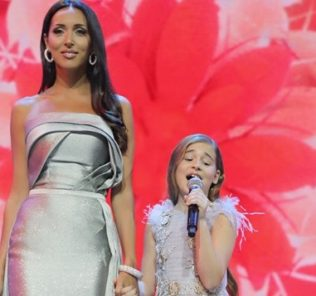 Дочь Алсу дебютировала на сцене вместе с мамой