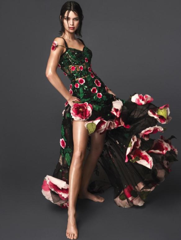 Кендалл Дженнер снялась для Vogue