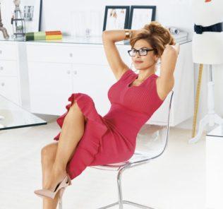 Ева Мендес презентовала свою новую коллекцию одежды