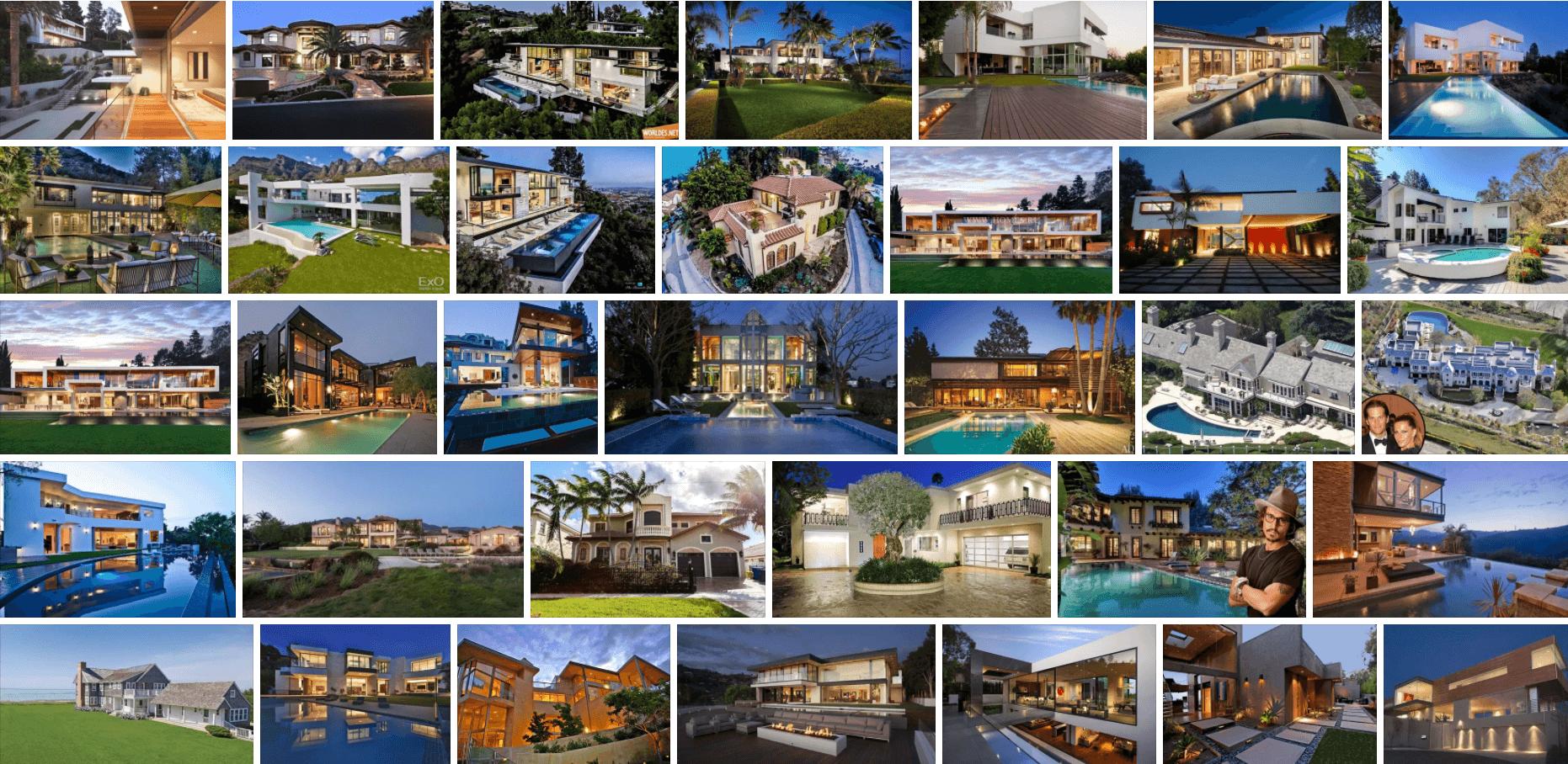 Пятерка самых необычных домов голливудских актеров